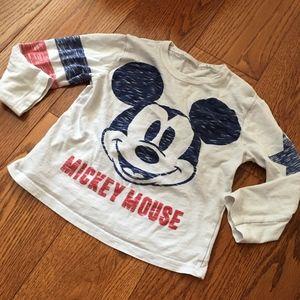 Zara babyboy mickey top